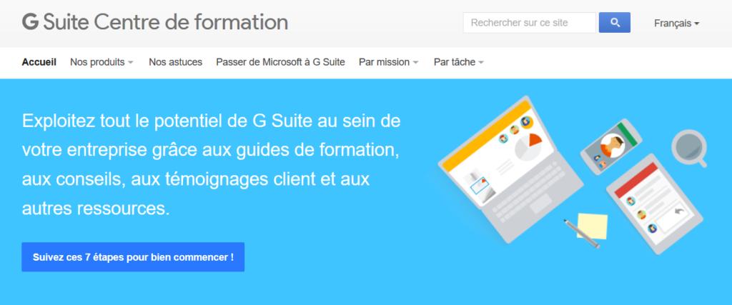 G Suite for Education – L'Atelier